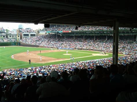 shaded  covered seating  wrigley field rateyourseatscom