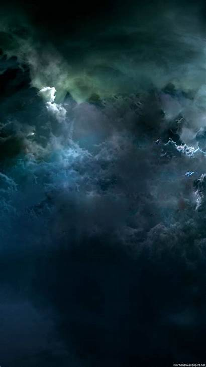 Dark Cloud Iphone Clouds Sky Wallpapers Storm