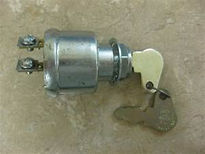 Cole Hersee Co  2 Position Keyed Ignition Switch Off  On 2