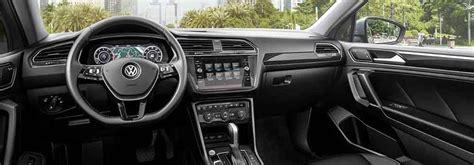 The Redesigned 2018 Volkswagen Tiguan Interior At Sunrise