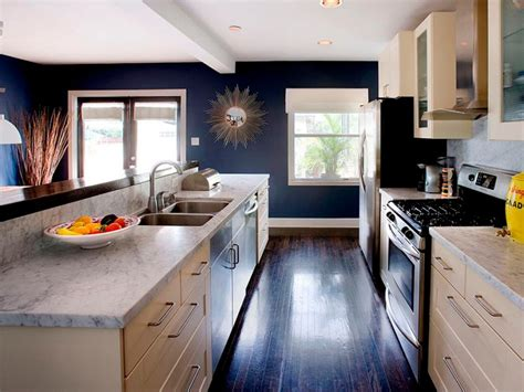 Kitchen Ideas For Remodeling - galley kitchen remodel ideas hgtv