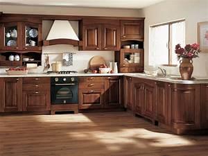 Cuisine Bois Massif : modele de cuisine en bois clair ~ Premium-room.com Idées de Décoration