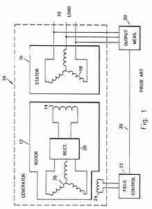 Electric Generator Wiring Diagram Simple Generator Diagram
