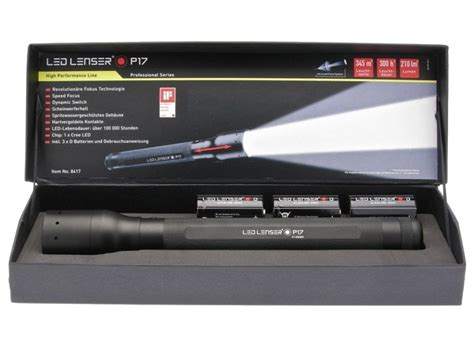 Led Lampe Camping by Lampe Torche Led Lenser P17