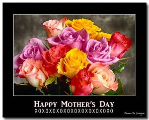 Happy Mother's Day With Hugs Kisses and Love