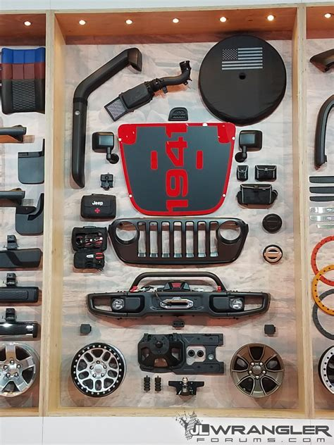 mopar jeep accessories mopar parts for jl wrangler revealed at sema first live