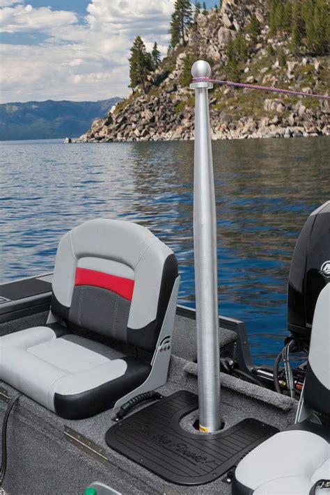 Tracker Boat Trailer Steps by Tracker Targa V 18 Combo Install The Removable Pylon And