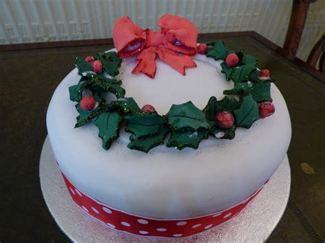 Beautiful Christmas Cakes-abbot's Hill