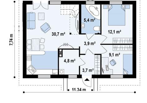 square meter house plans plenty  space houz buzz