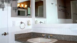 How To Install Beadboard in a Bathroom - YouTube