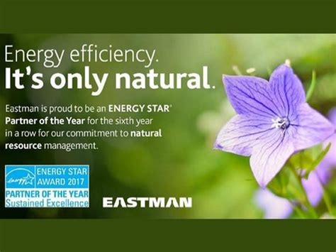 EPA Recognizes Eastman with 2017 ENERGY STAR® Partner of ...