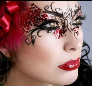 How to Create a masquerade ball mask with makeup  WonderHowTo