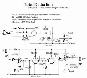 Tube Distortion Schematic
