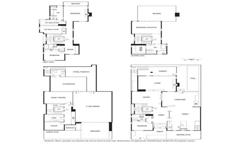 waterfront house floor plans waterfront vacation home plans small water front house plans