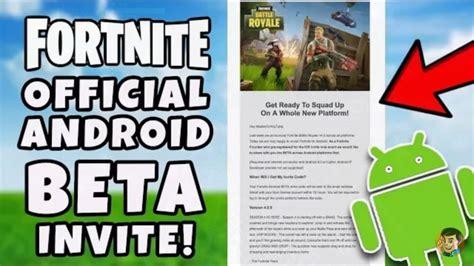 fortnite android beta fortnite auf android ger 228 ten startet bald ein beta test