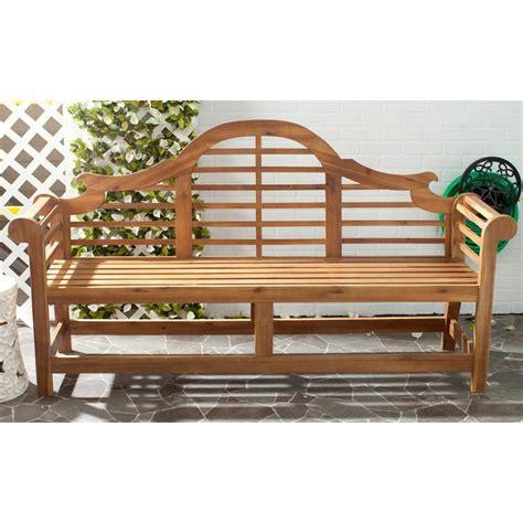 safavieh bench safavieh khara patio bench pat6705b the home depot