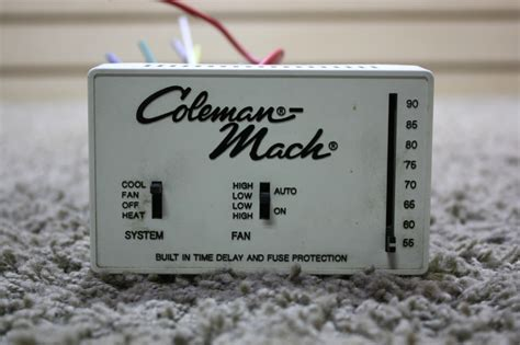 country home and interiors used motorhome coleman mach 7330d335 thermostat for sale