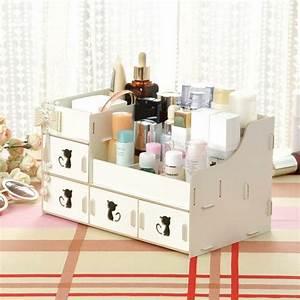 Boite De Rangement Maquillage : le rangement maquillage en quelques id es cr atives ~ Dailycaller-alerts.com Idées de Décoration