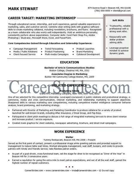 Gallery Internship Resume by Consultoria Miabel Cover Letter For Resume Sles Memes