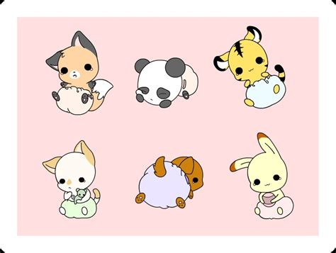 Chibi Animals Wallpaper - chibi characters images chibi animals hd wallpaper and