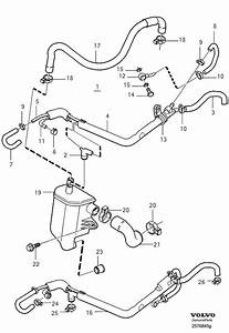 Volvo S40 Oil Trap  Pcv  Built  Gaskets