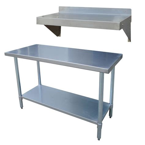 sportsman stainless steel kitchen utility table  work