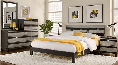 gardenia silver  pc king platform bedroom king bedroom