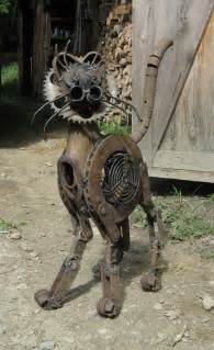 Steampunk Scrap Metal Art
