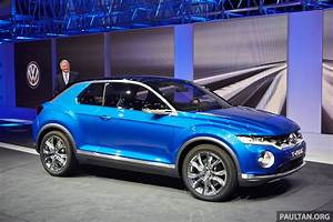 Volkswagen T-ROC Concept previews upcoming SUV Image 232481