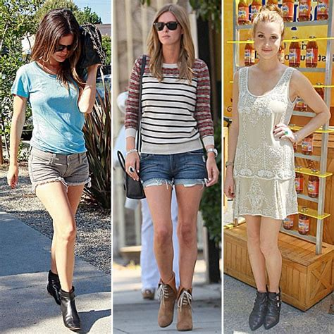 Get Look by Wearing Booties Get The Look Popsugar Fashion