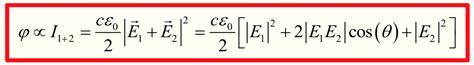 Electromagnetism Inteference Energy Conservation
