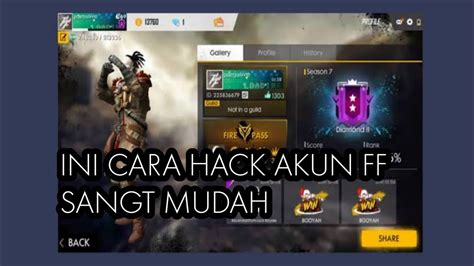 Do you start your game thinking that you're going to get the victory this time but you get sent back to the lobby as soon as you land? cara hack akun free fire sultan terbaru 2020 - YouTube