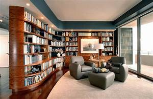 40 home library design ideas for a remarkable interior for Home library ideas