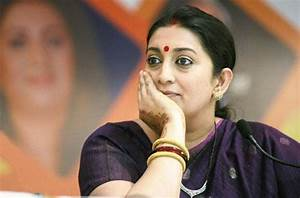 Smriti Irani accuses Sibal of being involved in land scam