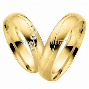 couple wedding rings gold wedding promise diamond With wedding rings for couple
