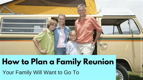 how to plan a family reunion party ideas tips celebration advisor wedding and party network blog