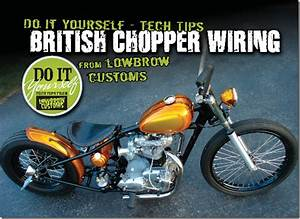 British Chopper Wiring