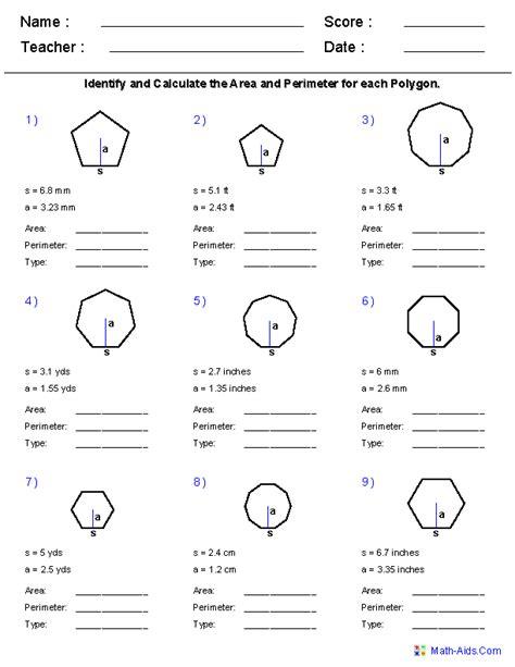 images  area  quadrilateral worksheet types