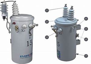 Single Phase Pole-mounted Transformer Csp Type