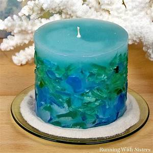 Diy, Candle, Making, How, To, Make, A, Sea, Glass, Candle