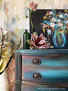 Gorgeous, Bohemian, Blue, Dresser