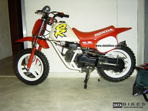 2000 Honda Children Motorcycle Top Qr50 Ideal For Beginners