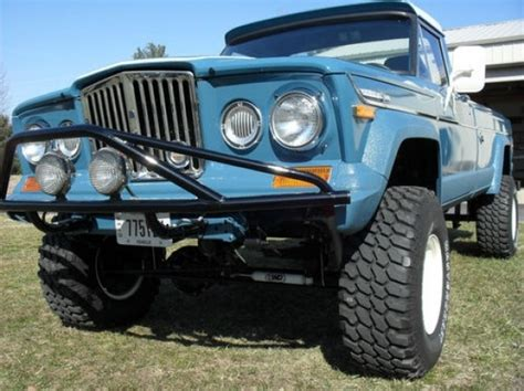 jeep gladiator 1971 thumbs up 1971 jeep j4000 gladiator 4 4 bring a trailer