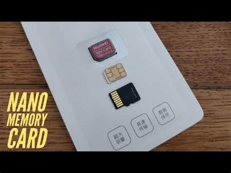 Card memory original huawei nano memory nm card 128gb for mate 20 & pro nm1. NANO MEMORY Card (NM CARD) by Huawei. - YouTube