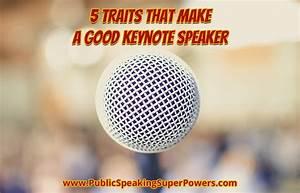 5 Traits That Make a Good Keynote Speaker | Public ...