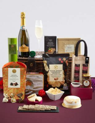 marks and spencer xmas food gifts hers luxury food gift baskets m s