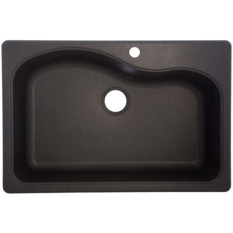 single basin drop in kitchen sink shop franke usa 22 in x 33 in graphite single basin