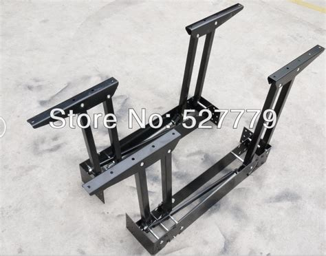 New Metal Table Mechanism. Folding And Extendable Dining
