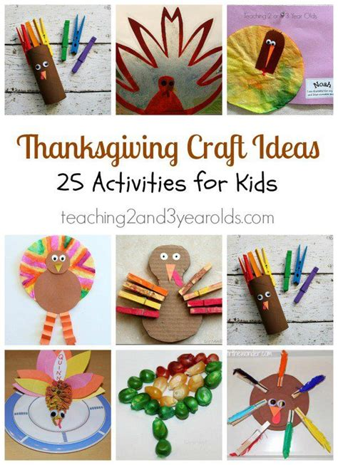 thanksgiving craft ideas  preschoolers