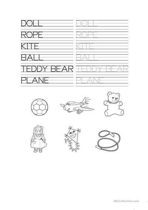 toys tracing worksheet tracing worksheets preschool